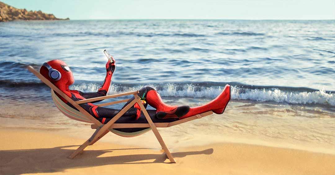 Solstizio d'estate al mare con Spider-Man