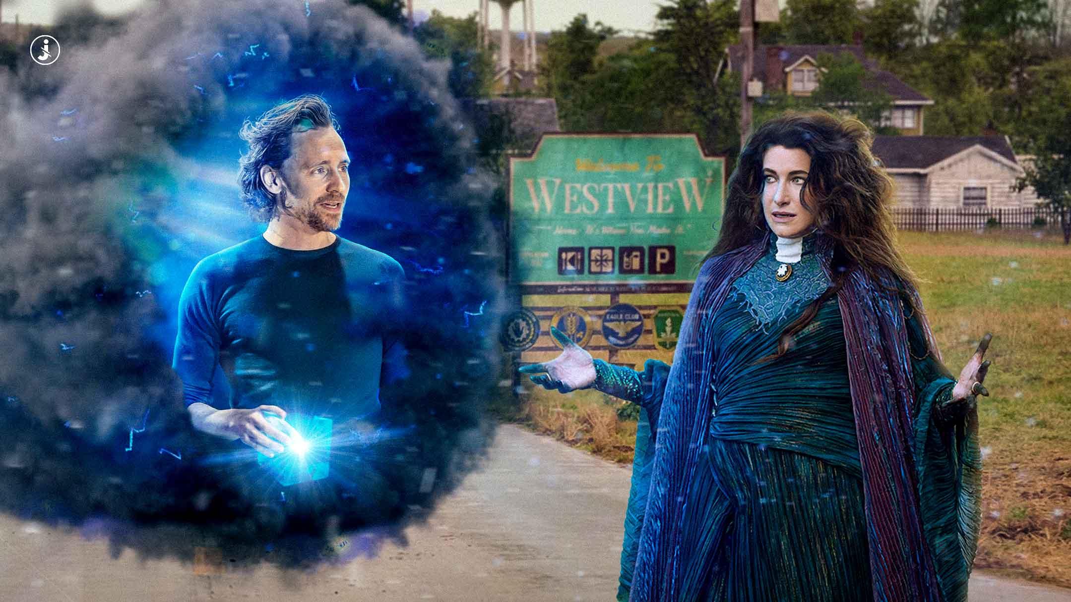 Fotomontaggio, Loki vs Agatha