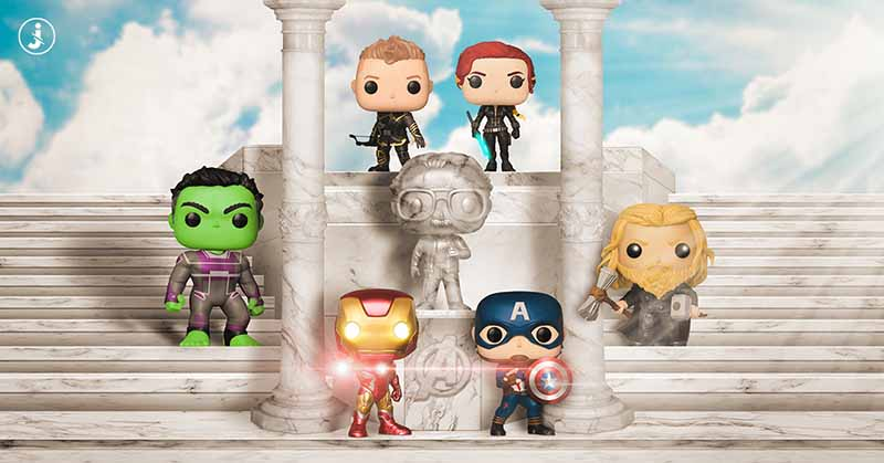 Fotomontaggio, Avengers Funko Pop fan art
