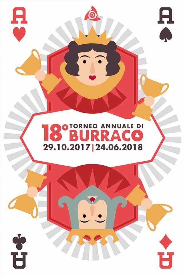 Poster Arcess Club, torneo di Burraco annuale, 2017