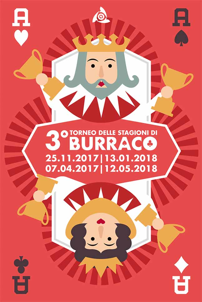 Poster Arcess Club, torneo di Burraco delle stagioni, 2017