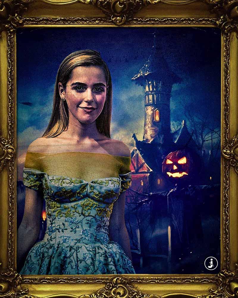 Fotomontaggio, Halloween