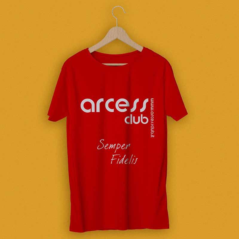 T-shirt promozionale 2011 - Arcess Club