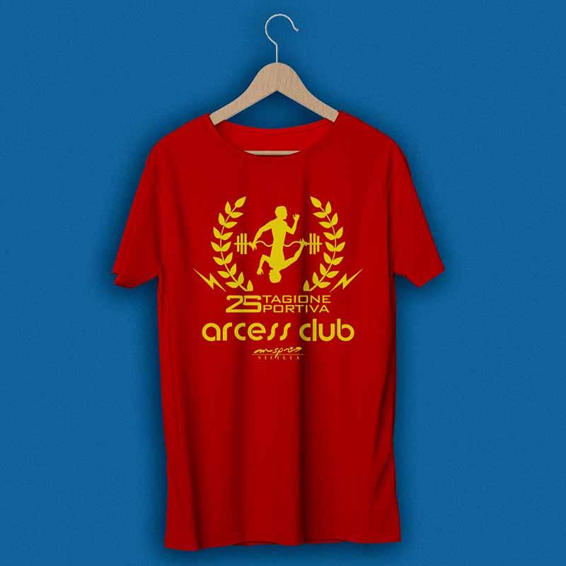 T-shirt promozionale 2017 - Arcess Club