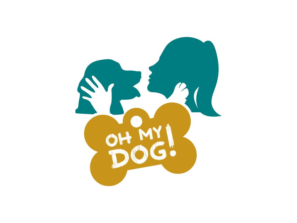 Logo Oh My Dog!, evento agility dog, Palermo 2014