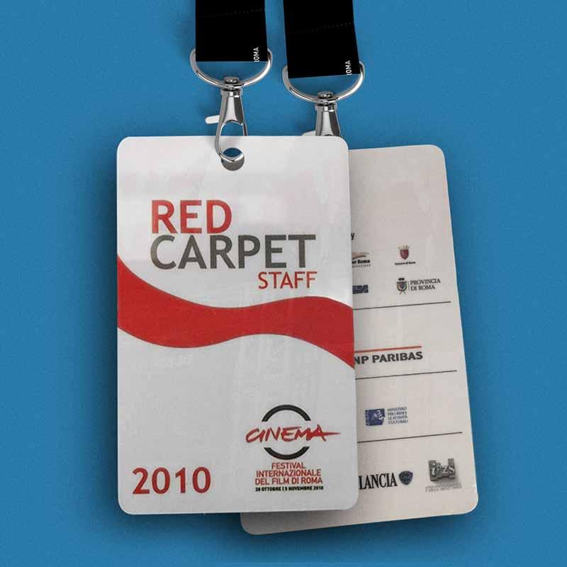 Pass Red Carpet - Festival Internazionale del Film di Roma, 2010