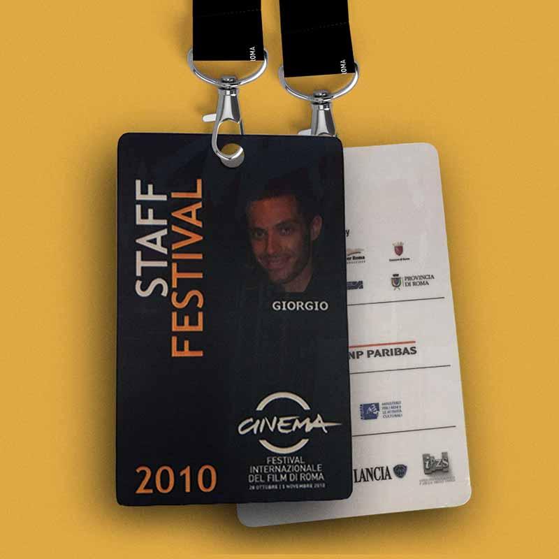 Pass Staff - Festival Internazionale del Film di Roma, 2010