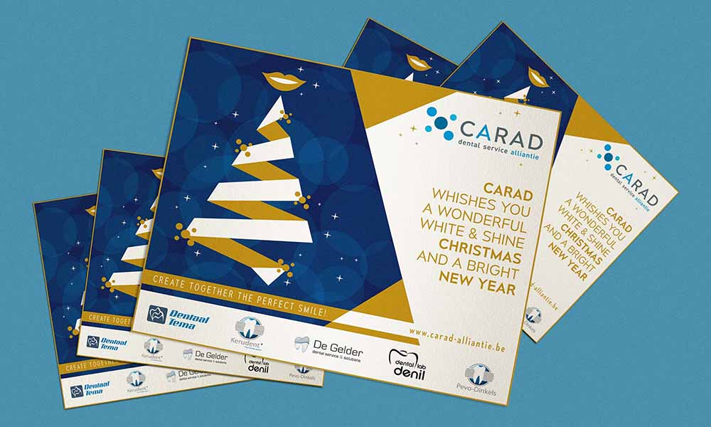 Promocard Carad, dental service alliantie, Belgio 2016