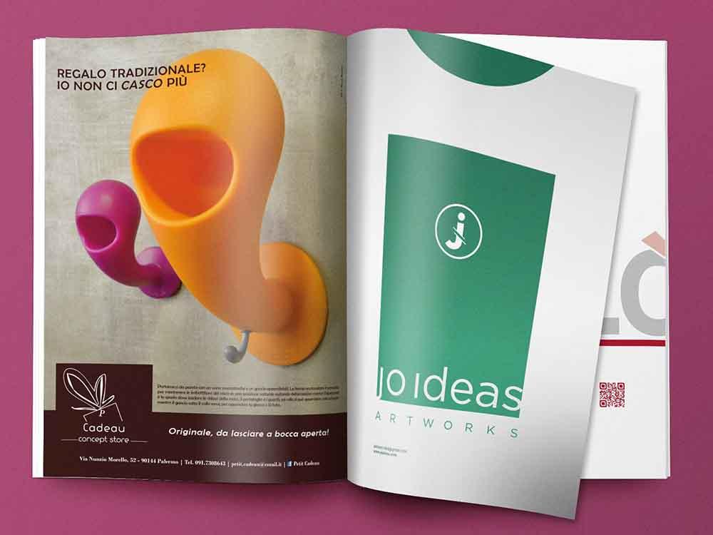 Pagina pubblicitaria Cadeau Concept Store, Palermo 2012