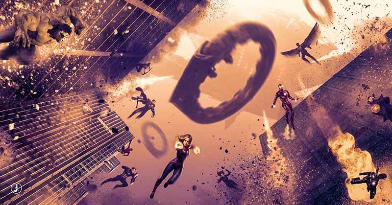 Fotomontaggio, Avengers assemble