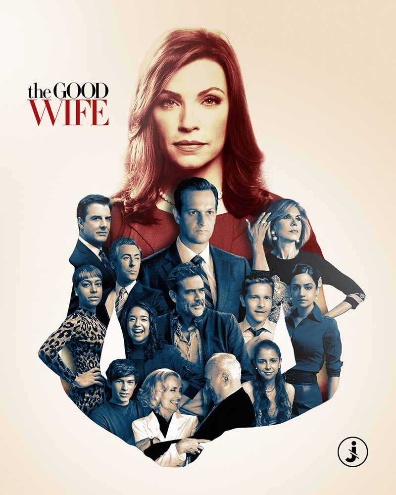 Fotomontaggio, The Good Wife all stars