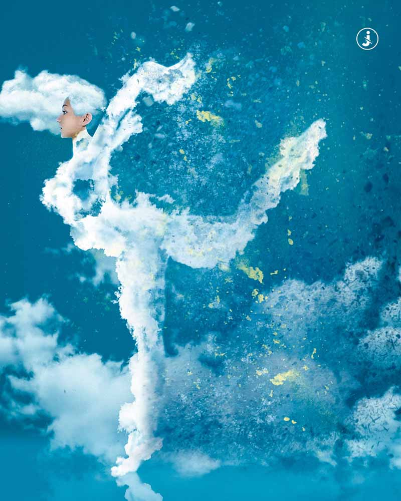 Fotomontaggio, Air dance
