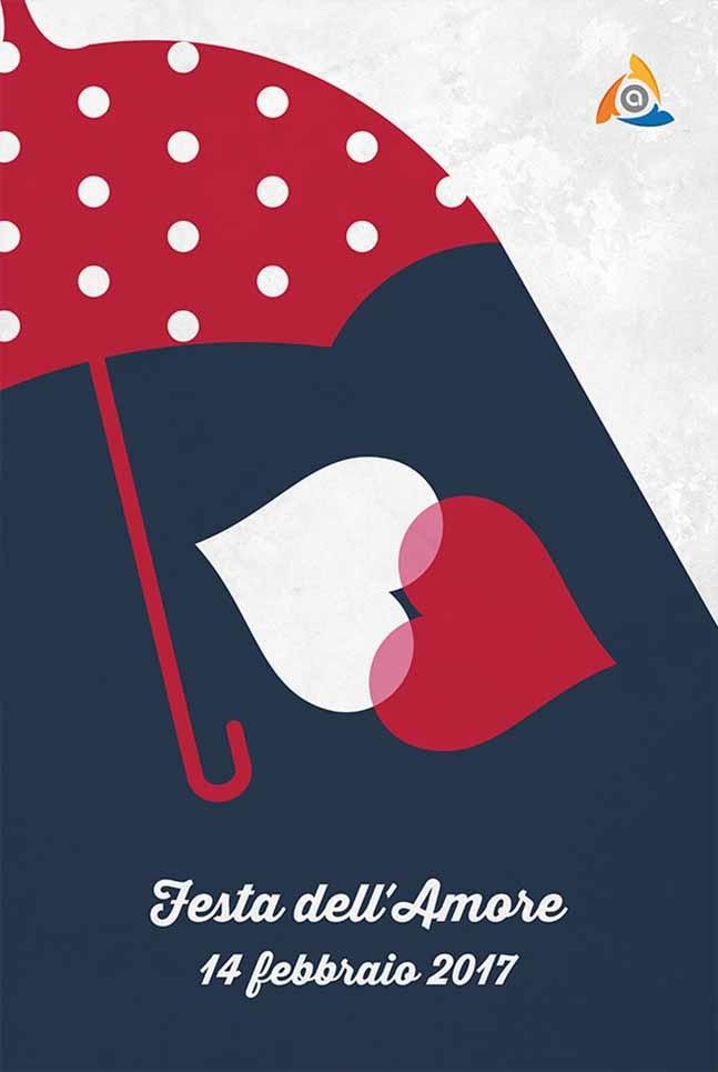 Poster Arcess Club, evento Festa dell'Amore, Palermo 2017