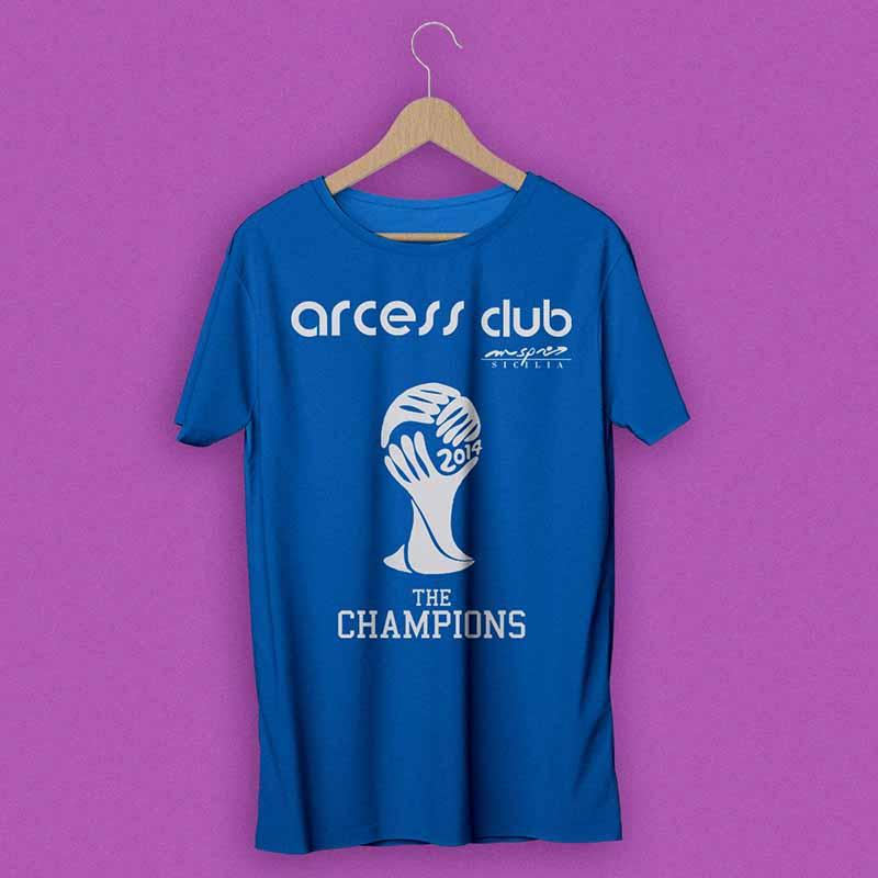 T-shirt promozionale 2013 - Arcess Club
