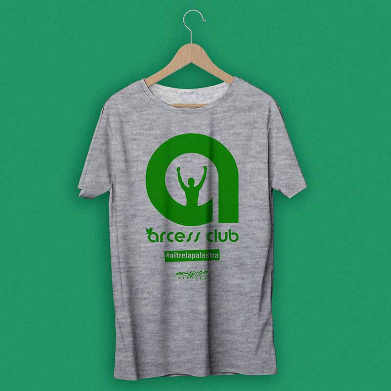 T-shirt promozionale 2015 - Arcess Club