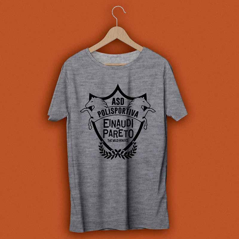 T-shirt d'Istituto 2017 - ASD Polisportiva Wild Horses Einaudi Pareto