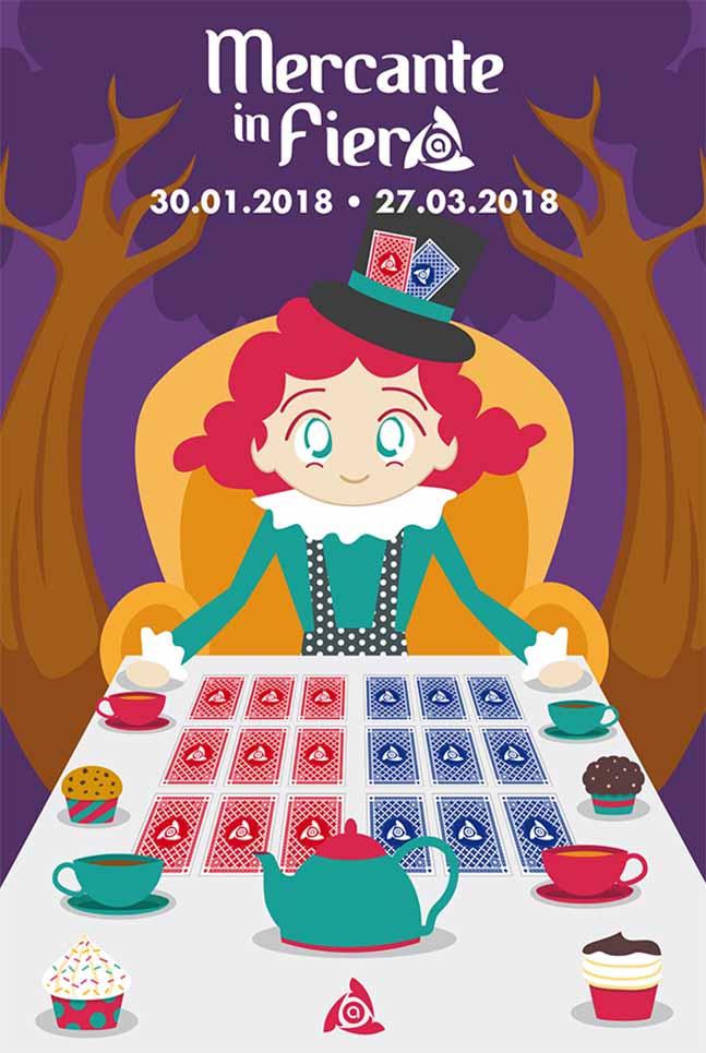 Poster Arcess Club, evento Mercante in Fiera, 2018