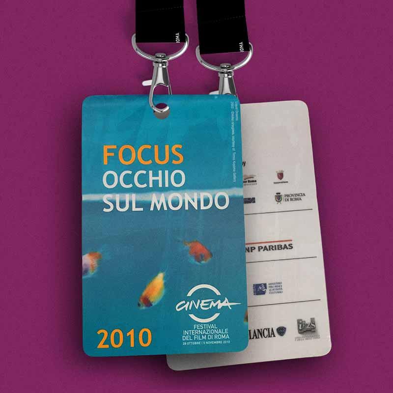 Pass sezione Focus Occhio sul Mondo - Festival Internazionale del Film di Roma, 2010