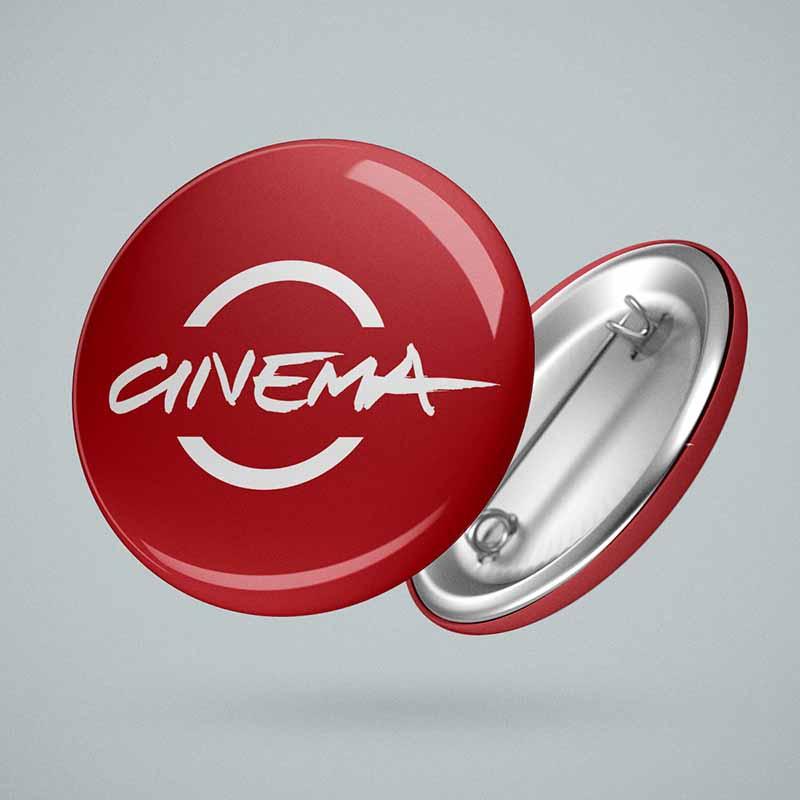 Pin promozionale - Festival Internazionale del Film di Roma, 2010