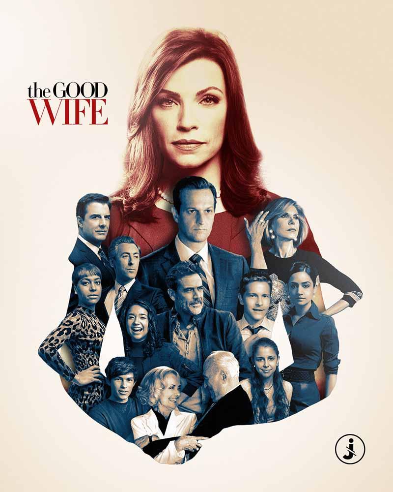 Fotomontaggio, The Good Wife all stars