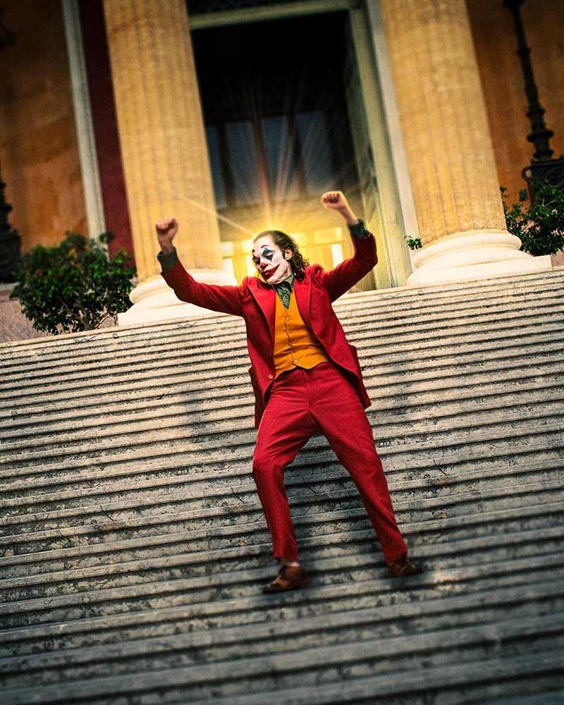 Fotomontaggio, Joker a Teatro